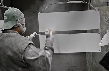 静電粉体塗装